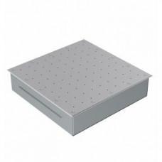 """Гейзер 400x400, плитка, AISI 304, 2"""", Аквасектор (60 м³/ч)"""