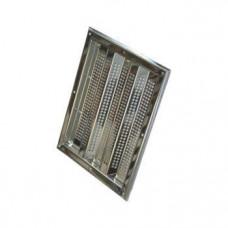 Водозабор 395х1003, плитка, AISI 316, Аквасектор (200 м³/ч)