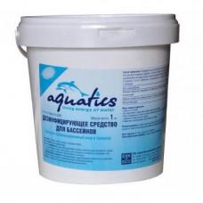 Быстрый хлор гранулированный 1 кг.  Aquatics
