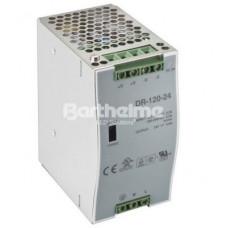 Блок питания c DIN-рейкой, 66х125х100 мм 5 А/ 120 Вт/ IP20