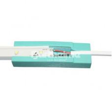 Комплект стыковки лент, 2-х жильный кабель, пласт. форма для заливки, шприц с полиуретановым клеем, пара защитных перчаток