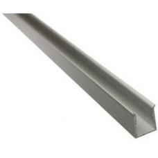 Монтажный профиль 2.0 для светодиодной ленты AQUALUC W:AVE (17,5 x 17,5 мм), l=1 м, алюминий