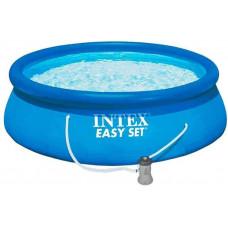 Водораспорный бассейн круглый 305х76см + фильтр-насос