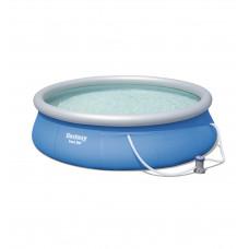 Водораспорный круглый бассейн Fast Set 396х84 см, с фильтр-насосом