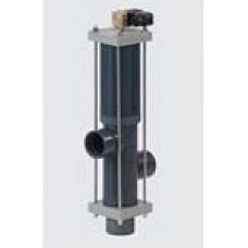 3-поз. клапан Besgo DN 125/ø140 мм,  450 мм,  с электромагн. кл-ном 230 В (возд. 2х3/2)