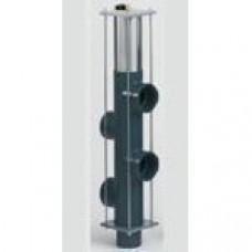 5-поз. клапан обратной промывки Besgo DN 40/ø50 мм, 125 мм, с электромагн. кл-ном 230 В