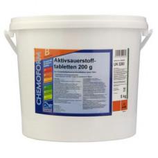 Активный кислород (O2) Аквабланк таблетки 10 кг. (200 гр.) Chemoform