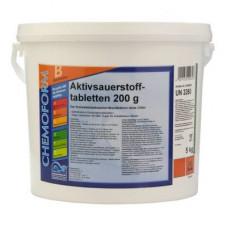 Активный кислород (O2) Аквабланк таблетки 5 кг. (200 гр.) Chemoform