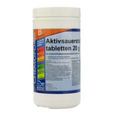 Активный кислород (O2) Аквабланк таблетки 1 кг. (20 гр.) Chemoform