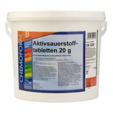 Активный кислород (O2) Аквабланк таблетки 5 кг. (20 гр.) Chemoform