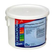 Регулятор pH+ (рН плюс) гранулированный 25 кг. Chemoform