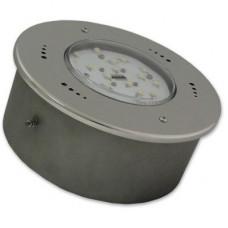 Прожектор светодиодный белый, нержавеющая сталь, 30 Вт 12 В