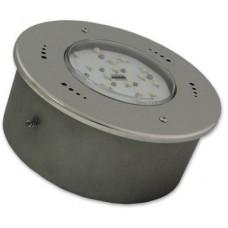 Прожектор светодиодный белый, нержавеющая сталь, 54 Вт 12 В