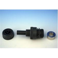Клапан впрыска DN 20; ПВХ; с запорным клапаном, с пружиной