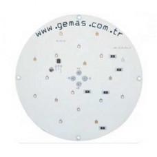 Лампа LED PAR56 монохромная, цвет белый (дневной свет) -1930 Лм (OSRAM  12 power LED), 12 В/34 Вт