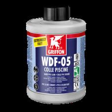 Клей для гибких труб ПВХ WDF-5 1 л в бутылке GRIFFON
