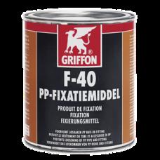 Средство Griffon для фиксации труб из ПП со скользщим резин.соед. F-40