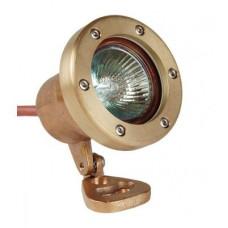 Галогеновый прожектор для подсветки фонтанов, 50 Вт, 12 В, 2-метровый кабель