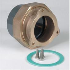 Комплект фланца(бронза) с буртом(ПВХ) для насосов fitstar (DN65)