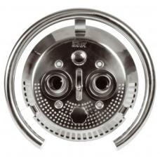 Лицевая часть противотока Taifun Duo, бронза/нерж. сталь, с пъезо. кнопкой