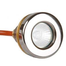 Прож. галог.  MINI 20 Вт, 12В AC, круг 57 мм, накл. с контрагайкой 1