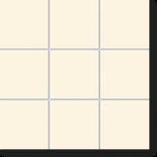 Керамическая мозаика, Mailand, Intensive Pearl matt, 102x102x6,5 мм, бежевый