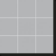 Керамическая мозаика, New York, Мetropolitan-Grey matt, 102x102x6,5 мм, серый