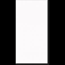 Керамическая плитка, Berlin, Timeless White, 312x629x8 мм, белый