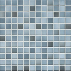 Мозаика серия Fresh 2,4 x 2,4 см Denim blue mix Secura (противоскользящая R10/B)