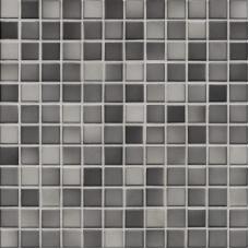 Мозаика серия Fresh 2,4 x 2,4 см Medium gray mix glossy (глазурованная)