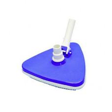 Щетка для донного пылесоса треугольная с нижним ворсом Ocean De Luxe (промо упаковка)