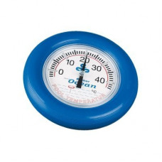 Термометр круглый, плавающий, D=18 см, синий Ocean