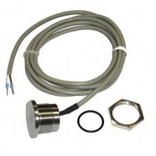 EL-кнопка (пьезокнопка), нерж. cталь, кабель 1,5 м, IP-68