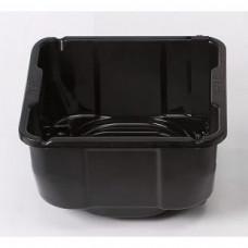 Переливная ванна для канистр с хлором или pH 20/25/30 л черная OSF