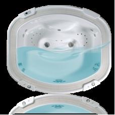 Переливная гидромассажная ванна Ospa Cannes, 2030 л, 5 мест