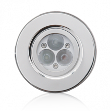 Подводный прожектор OSPA LED 3 х 3 Вт, Ø90 мм, белый