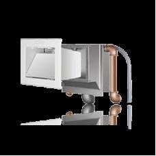 Скиммер ORU 240, нерж. сталь, с выводами для стенок 240 мм