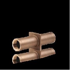 Стеновой проход Ospa UNI K, 240 мм, бронза