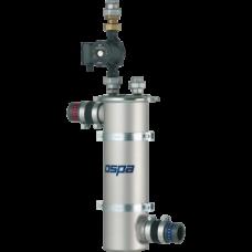 Теплообменник Ospa 36, 41.8 кВт (при t=90°С), нерж. сталь, управление 3-ход клапаном