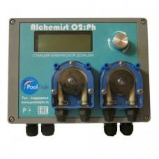 Пульт автоматического дозирования O2/pH Alchemist O2/pH