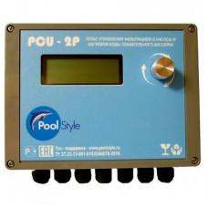 Пульт управления насосом/нагревом воды плавательного бассейна PCU-2P