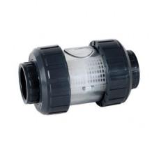 Фильтр сетчатый ПВХ d=50, для сита из нерж. стали (0,5-0,75-1,0 мм) (тип S4, EPDM) PN16 PRAHER