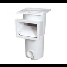 Скиммер W-PM-Short, короткий, для пленочных бассейнов, белый (3566837040581)