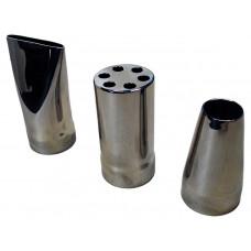 Насадки сменные для водяной пушки RunvilPools, AISI 304
