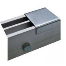 Профиль для защиты от попадания строительной пыли для напольных щелевых диффузоров AS