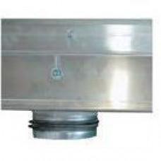 Врезка для воздуховода круглой формы Ø 100 мм