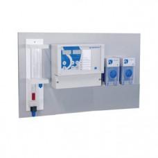 WG Whirlpool Control 100 Chlor (Rx, pH), с 3 дозировочными насосами насосами 3 л/ч (дезинфекция, повышение и понижение рН) и контролем измерительной воды