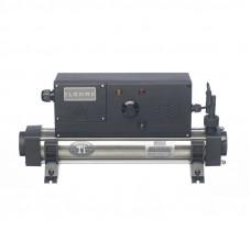 Электронагреватель гориз./вертик. Elecro EVO 8T39V титан/сталь, 9 кВт (230/400В)