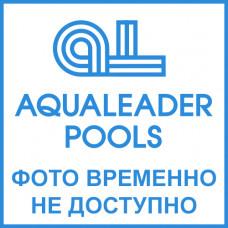 Пневмокнопка в комплекте с пневмошлангом 5 м и пневмотрубкой, нерж.ст./бронза, для готовых бассейнов, FitStar Hugo Lahme